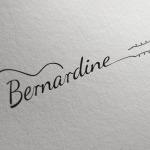 Bernardine Music Logo Design