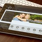 Australian Finance Solutions Web Site Design Tablet