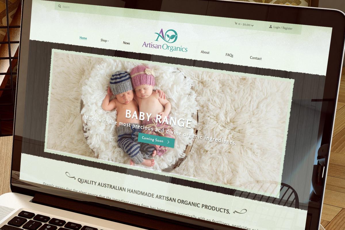 Artisan Organics Web Site Design
