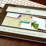 Artisan Organics Web Site Design Tablet