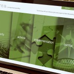 Centia Web Site Design Laptop