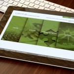 Centia Web Site Design Tablet