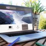 GW Capital Group Web Site Laptop