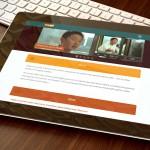 migme Company Web Site Design