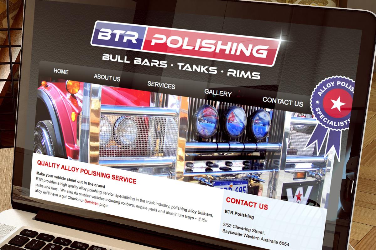 BTR Polishing Web Site