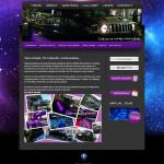 Cosmic Limousines Web Site Design