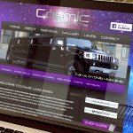 Cosmic Limousines Web Design