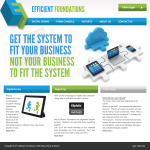Efficient Foundations Web Site Design