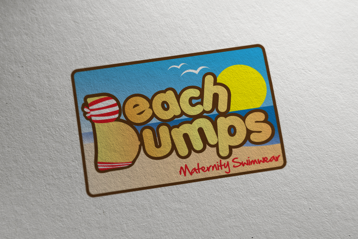 Beach Bumps logo design