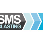 SMS Blasting Logo Design