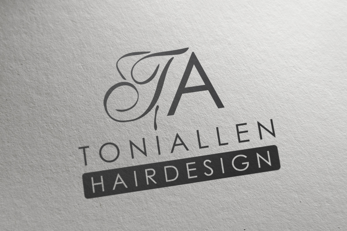 Toni Allen Hair Design Logo